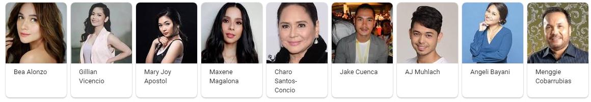 Eerie 2018 Movie Cast