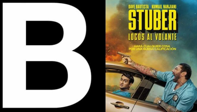 Stuber 2019 Movie Review