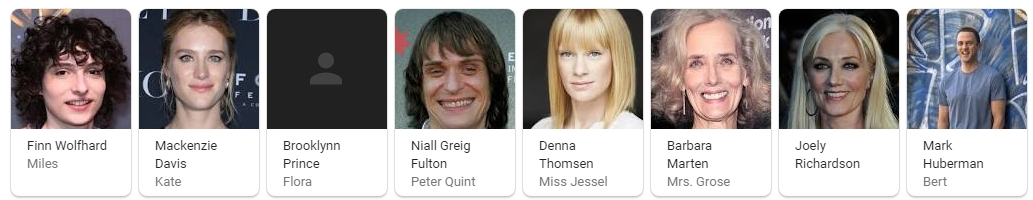 The Turning Movie Cast