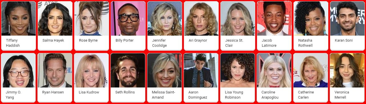 Like a Boss Film 2020 Cast