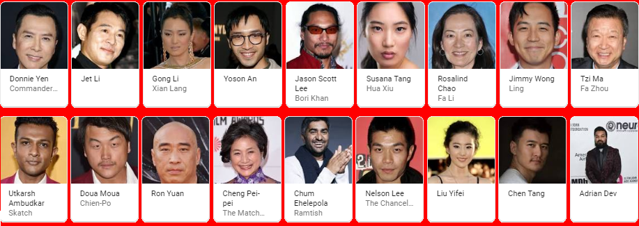 Mulan Movie Cast