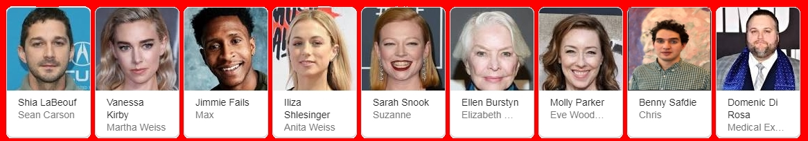 Pieces of a Woman 2020 Cast