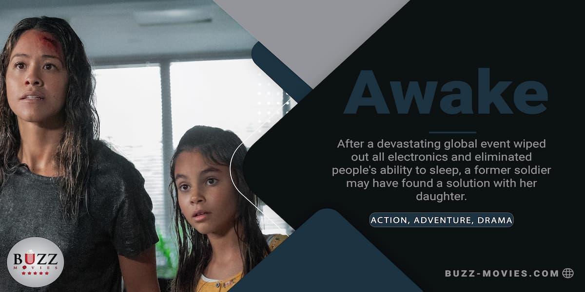 Awake 2021 New Action Movie