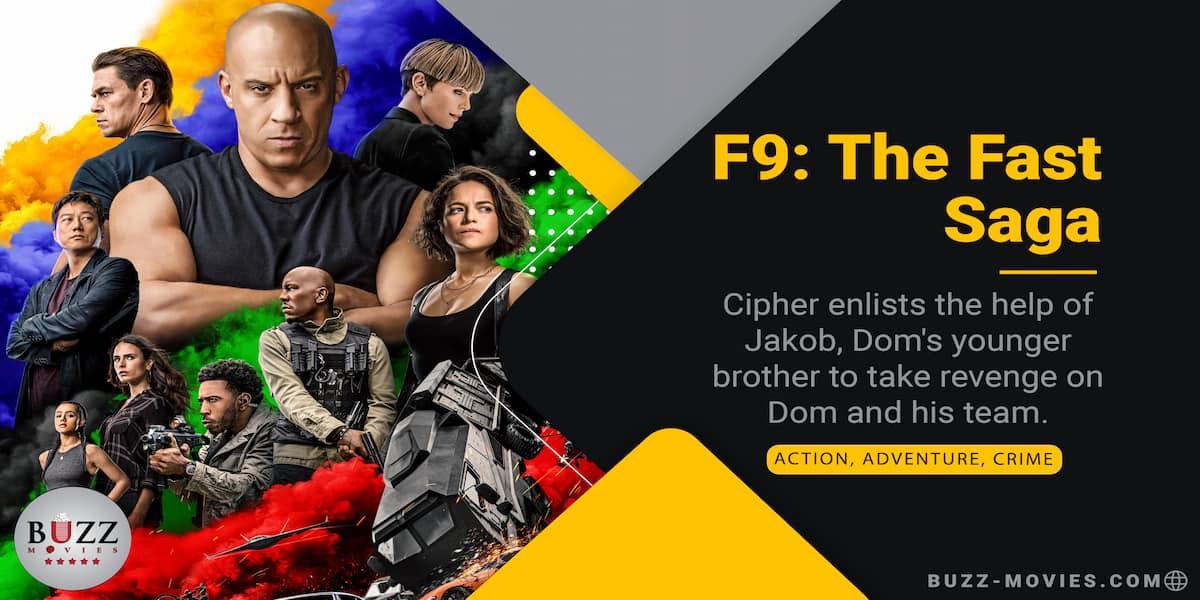 F9: The Fast Saga (Fast & Furious 9)